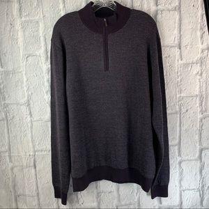 NWOT Toscano Pullover Wool Blend Sweater, Sz XL